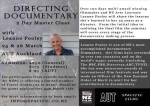 2 Day Directing Documentaries Master Class